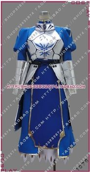 Free Shipping New Arrival Fate Zero Saber Cosplay Costume Tailor-Made