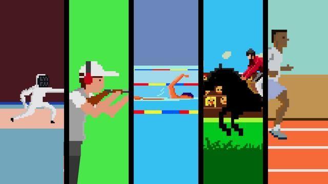 #VIDEO Los Juegos Olímpicos en 8 Bits. Imperdible