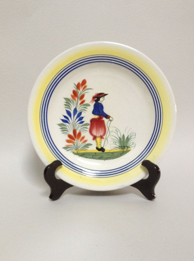 Your Place To Buy And Sell All Things Handmade Hand Painted Decor Quimper Pottery Quimper