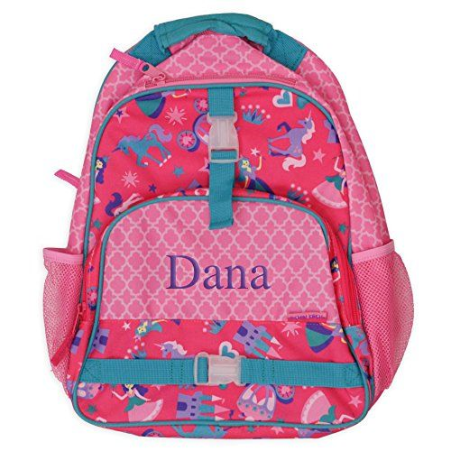 Toddler Backpack - Pink Lattice Backpack - PERSONALIZED