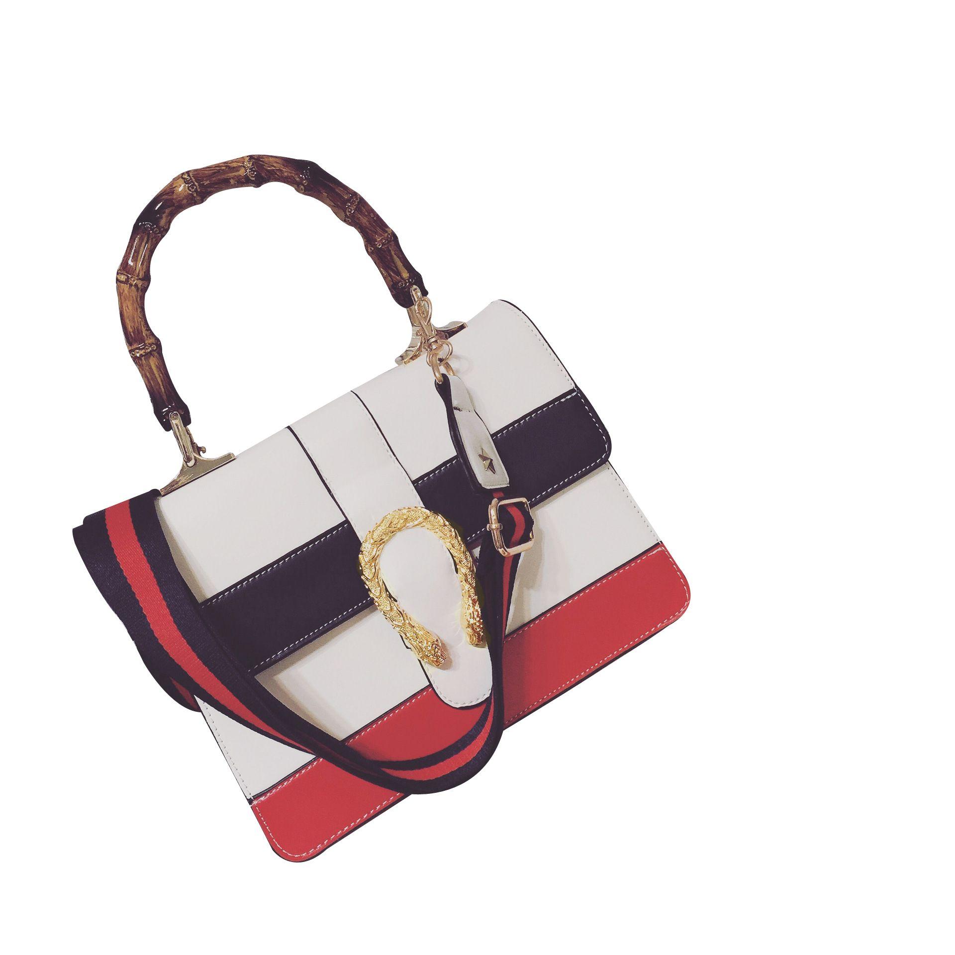 $29.90 (Buy here: https://alitems.com/g/1e8d114494ebda23ff8b16525dc3e8/?i=5&ulp=https%3A%2F%2Fwww.aliexpress.com%2Fitem%2FFamous-brand-handbags-2016-new-catwalk-models-Bacchus-handbag-navy-stripes-of-red-and-white-stitching%2F32690985306.html ) Famous brand handbags 2016 new catwalk models Bacchus handbag navy stripes of red and white stitching Mobile Messenger bag for just $29.90