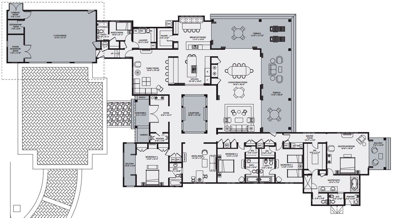 100 millennium tower floor plans millennium tower for 1500 ocean drive floor plans