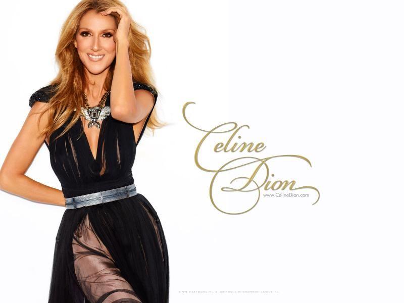 Celine Dion Black Dress Little Black Dress Celine dion hd wallpaper