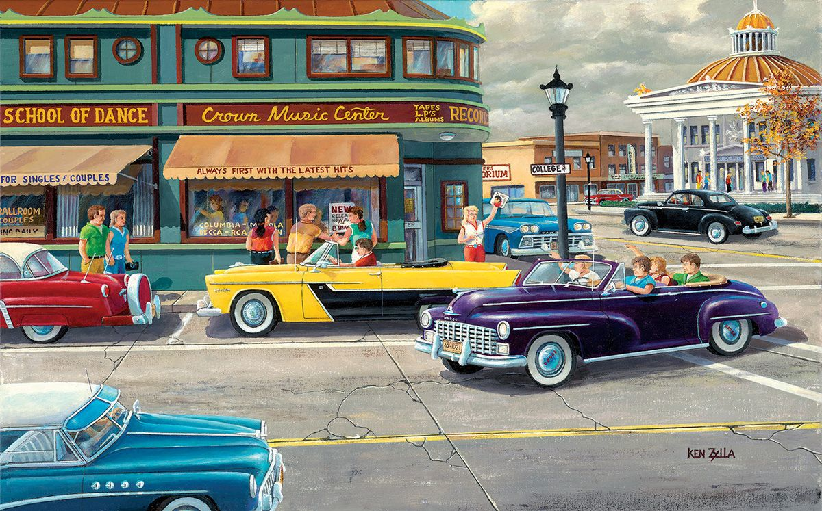 The Late Shift | Automobilia | Free online jigsaw puzzles