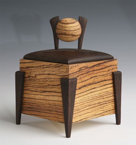 Fine Woodworking by Dan Southern | Small wood box, Wooden ...