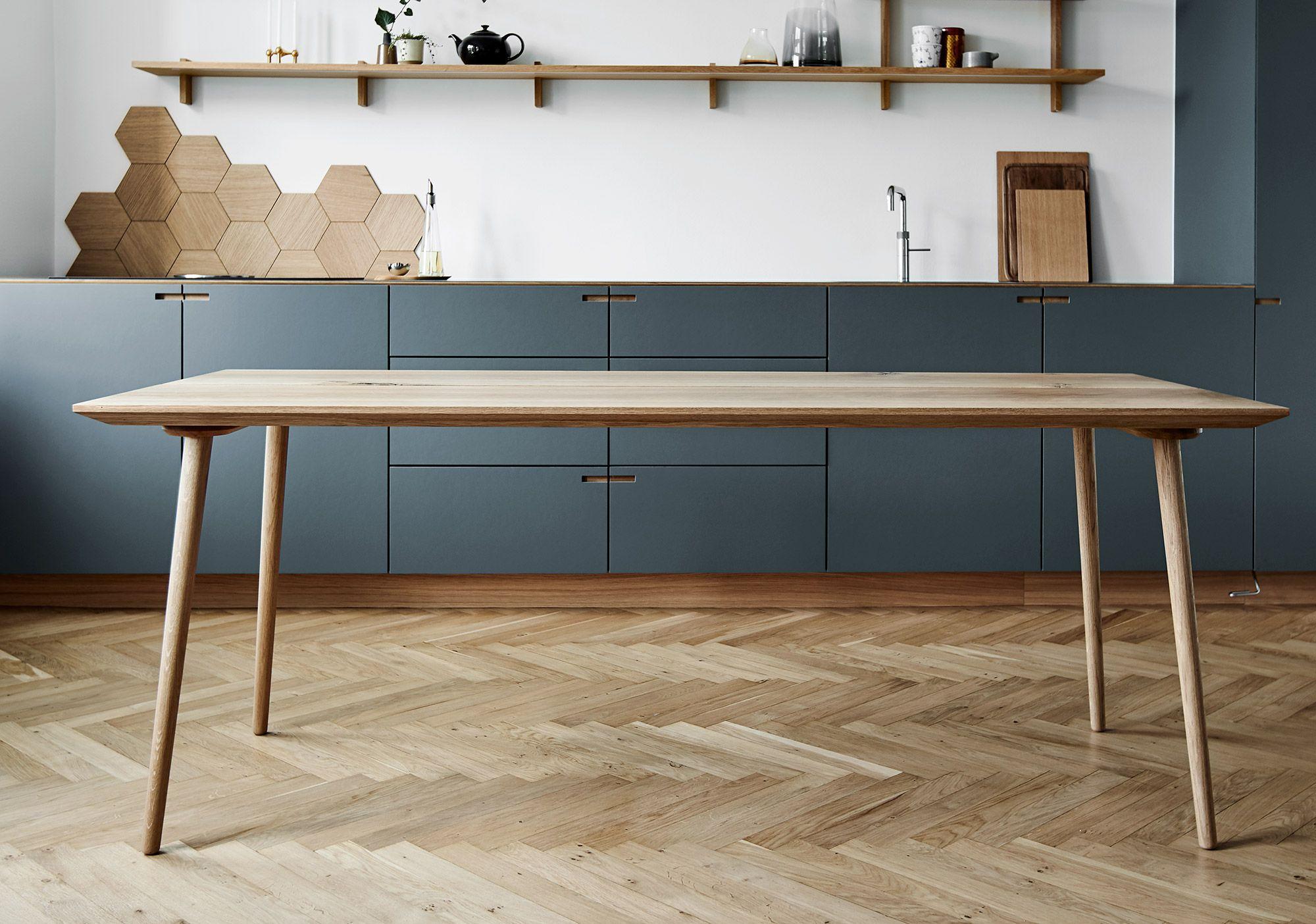 Photo of Plankebord spisebord | Smukke egetræsplankeborde i lækkert d…
