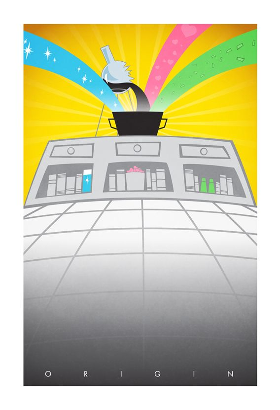 FAN ART: Superhero Origin Posters Series 2