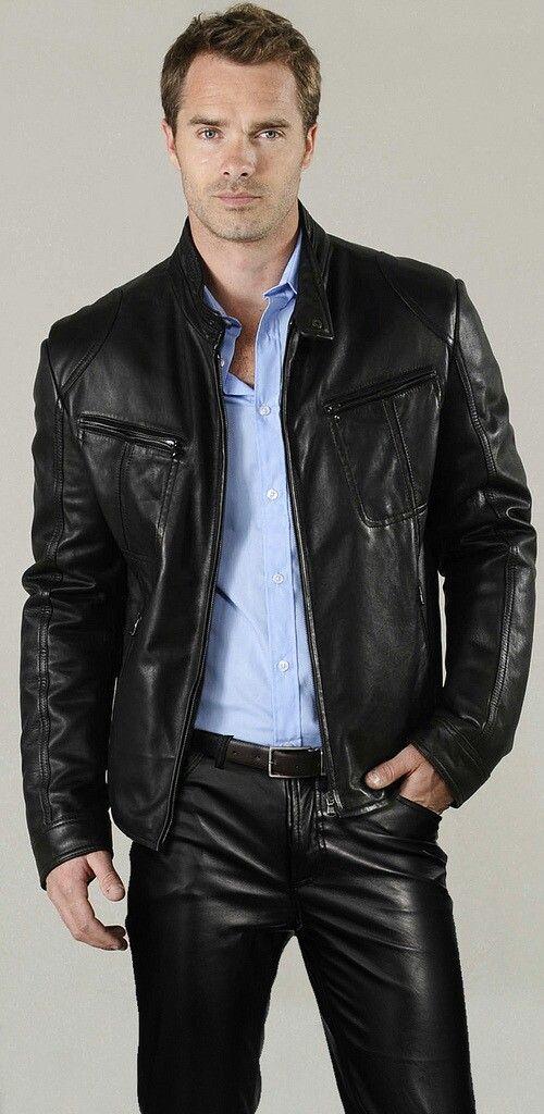 451a15dca223 Épinglé par orlov sur Cuir homme   Pinterest   Pantalon cuir, Cuir et  Vetement cuir