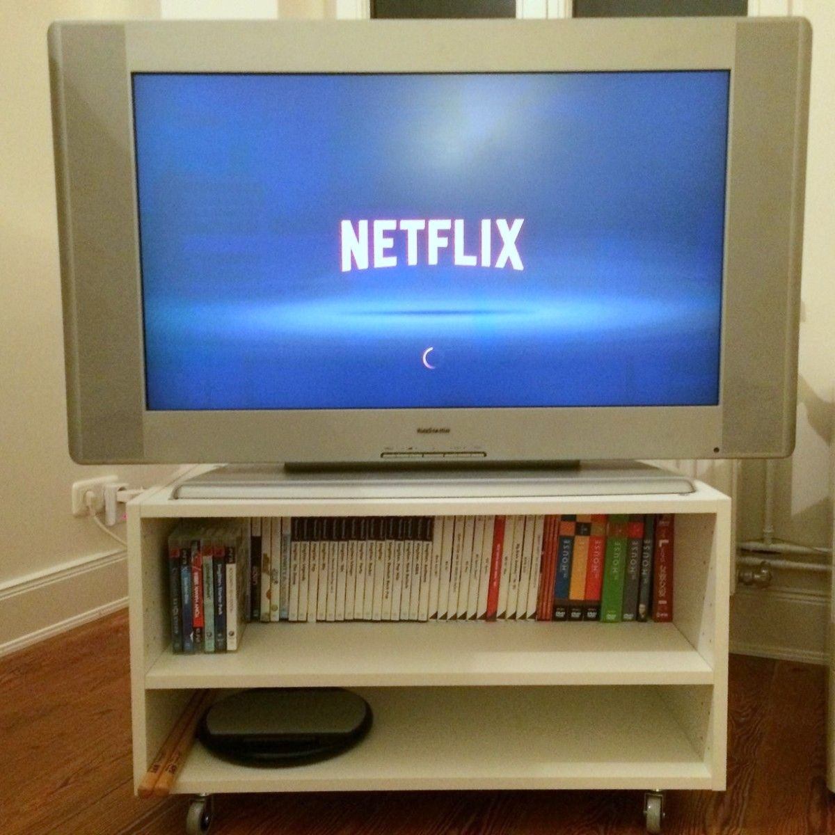From Wall Cabinet To Small Tv Stand Ikea Hackers Small Tv Stand Ikea Tv Tv Stand