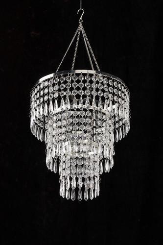 This Beautiful Vintage Style Acrylic Beaded Chandelier Looks Like