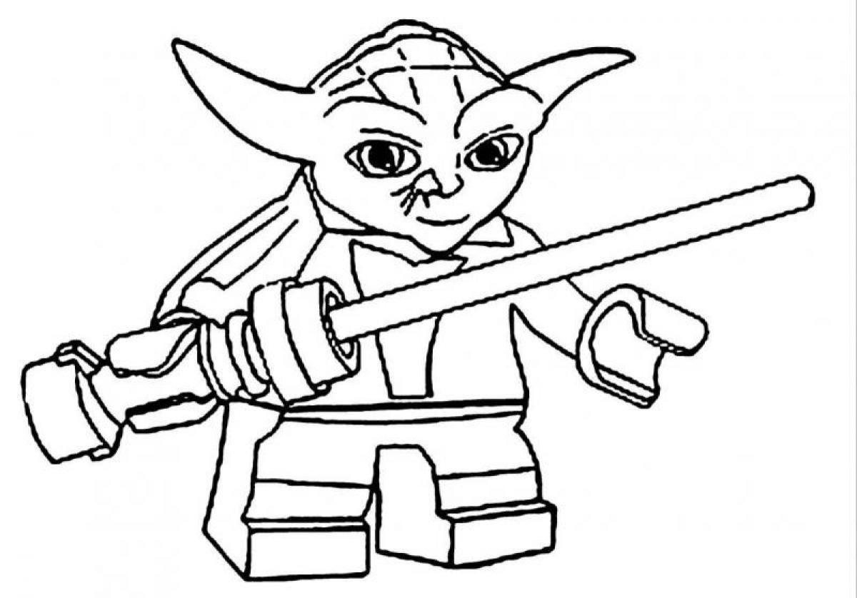 Lego Star Wars Yoda Coloring Pages Photos, Cartoon at becoloring.com ...