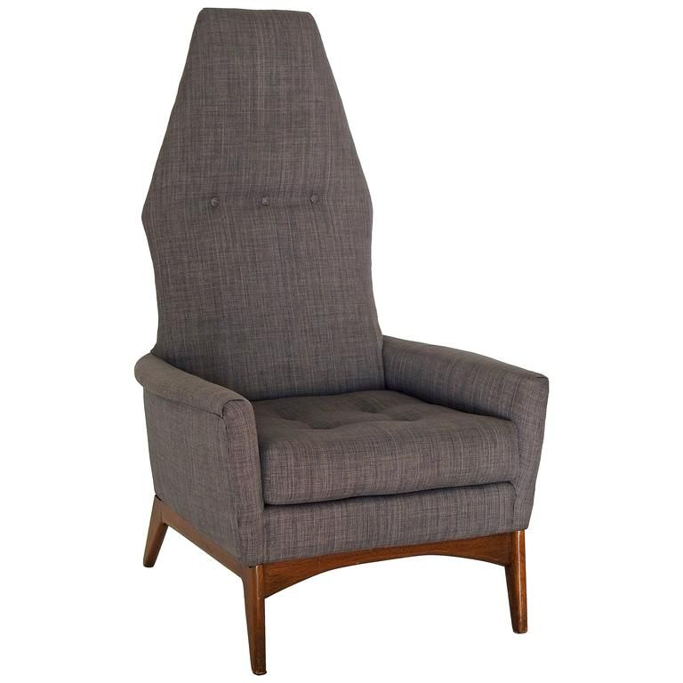 MidCentury Adrian Pearsall HighBack Lounge Chair From