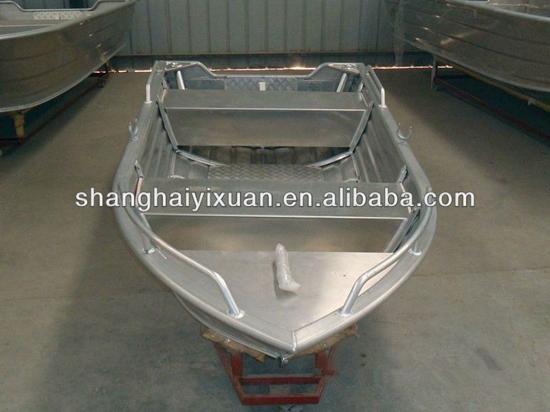 13ft All Welded Deep V Shaped Bottom Aluminum Fishing Boat Aluminum Fishing Boats Small Fishing Boats Fishing Boats