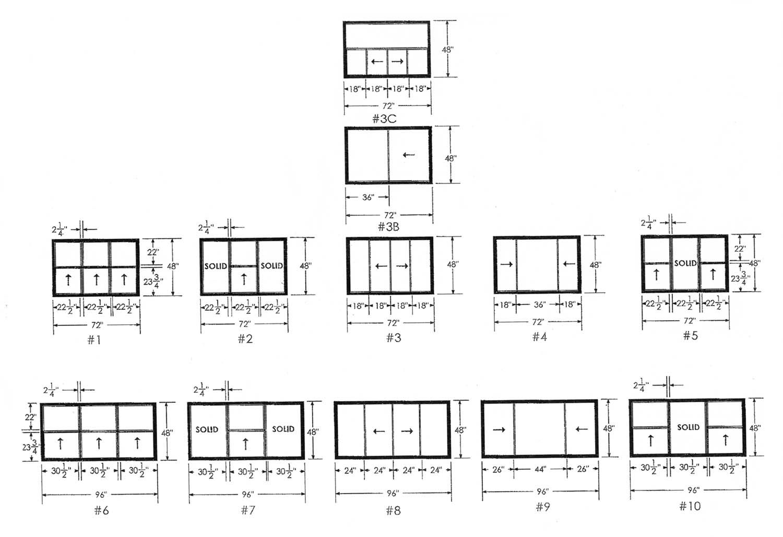Average Kitchen Window Size