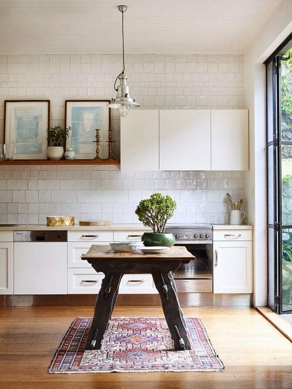 Pin de June Girl en Home Kitchen Pinterest Azulejos blancos
