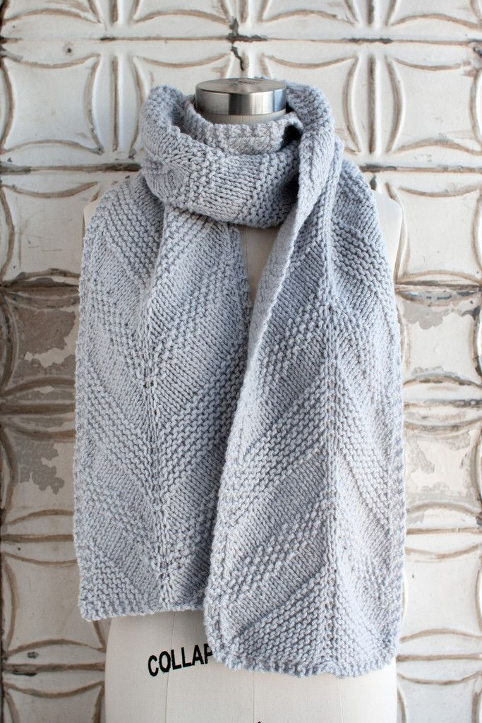 Knitting Patterns For Scarves On Pinterest : Carpenters Run Scarf Free Knitting Patterns (Scarves) Pinterest Ad...