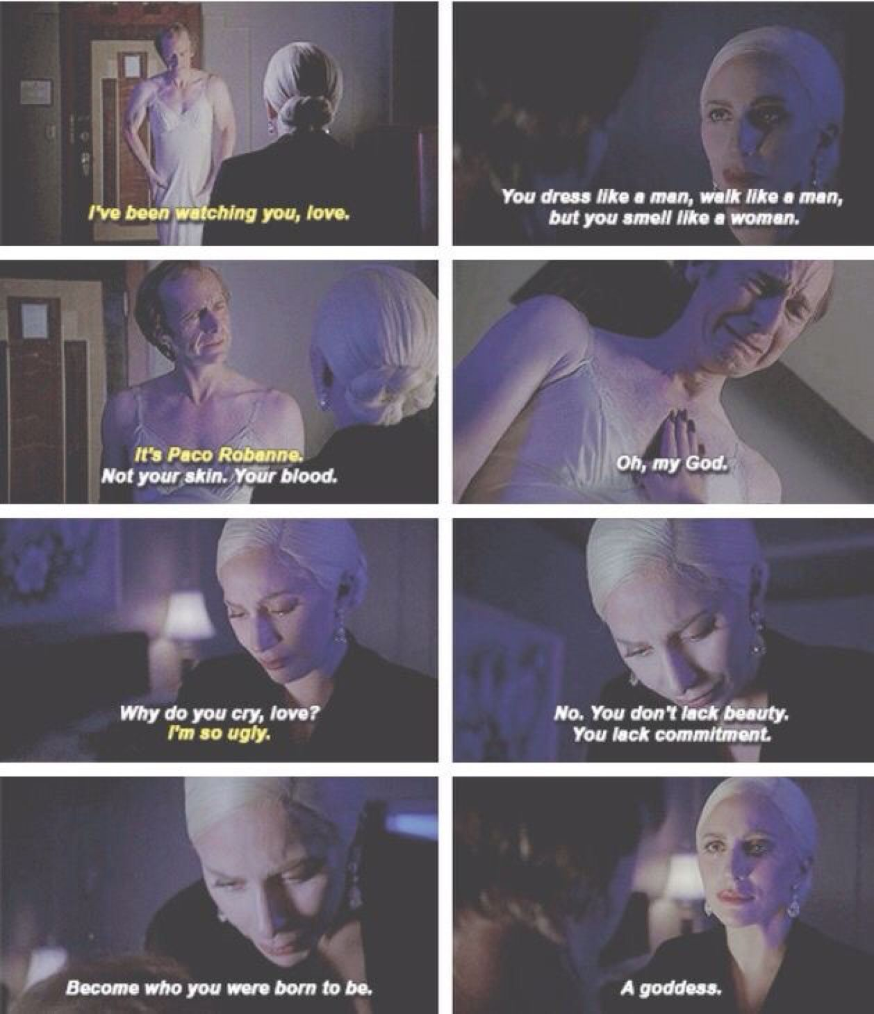 Oh Baby U Are To Die For American Horror Story Hotel American Horror Story Quotes American Horror