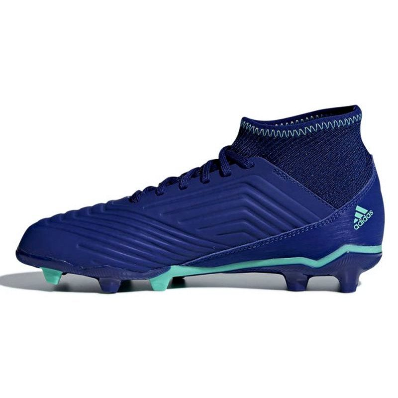 Buty Pilkarskie Adidas Predator 18 3 Fg Junior Cp9012 Niebieskie Niebieskie Adidas Predator Adidas Hoka Running Shoes