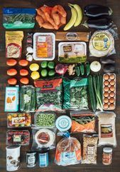 Here's A 7-Day Healthy Meal Plan That's Actually Doable,  #7Day #Doable #Fitness-MahlzeitVegetarier...