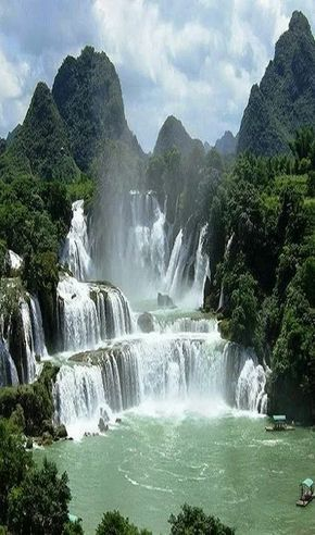Wasserfall Vietnam #landscapepics