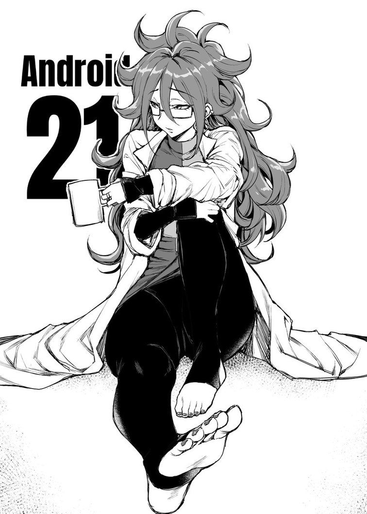 Android 21 by HentaiAnyday Anime dragon ball super