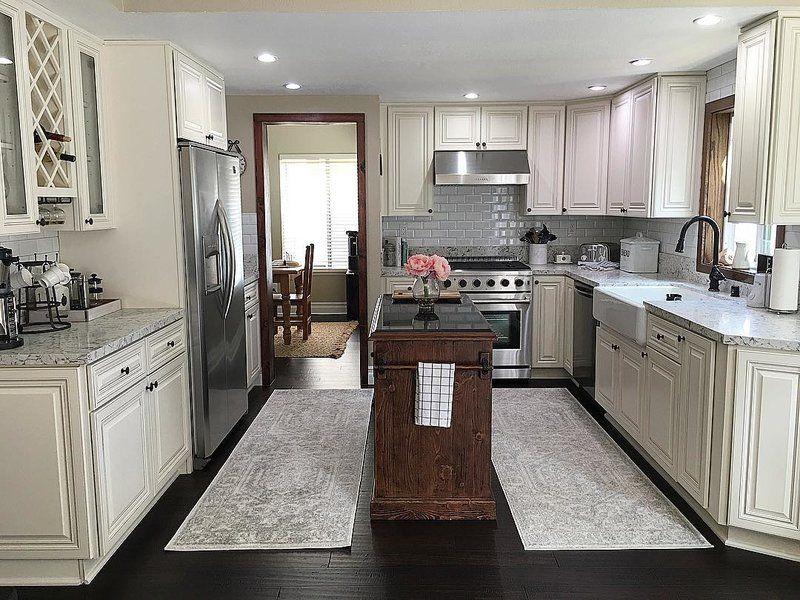 Harris Kitchen Island With Granite Top Country Kitchen Designs Kitchen Decor Inspiration Minimalist Kitchen Design