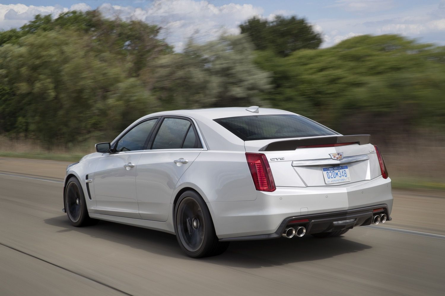 Cadillac Cts V Carbon Black Revealed Gm Authority
