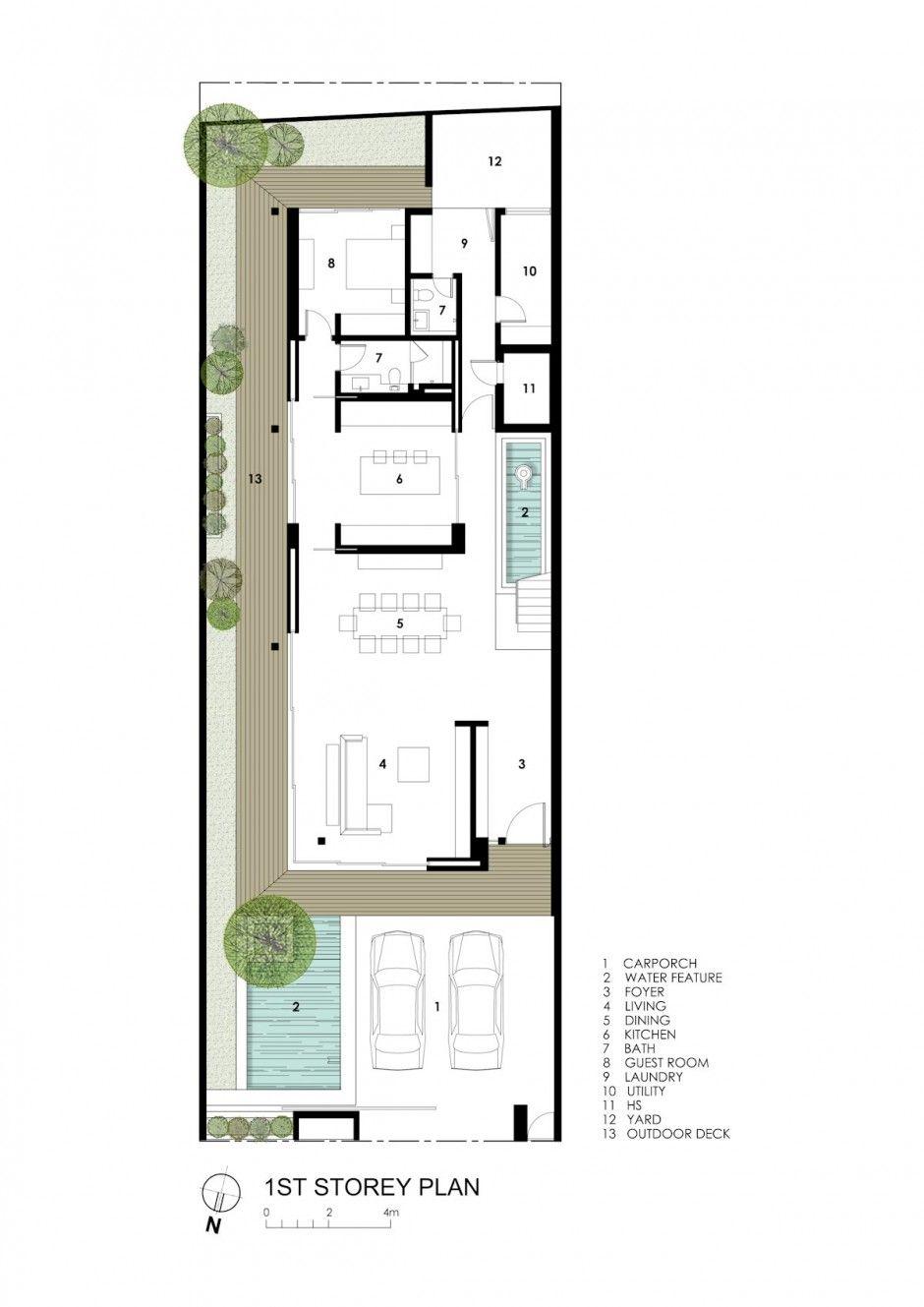 Fs 090514 18 plan ion pinterest wohnhaus for Architektur einfamilienhaus grundrisse