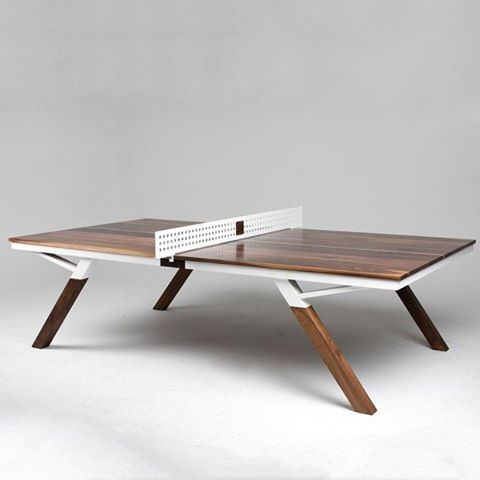 Table de Ping-Pong Woolsey par le designer @thewoolsey www.journal ...