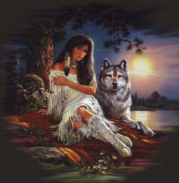 Native american women fantasy art question