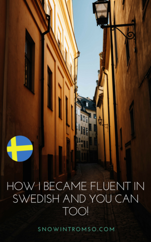 6 Ways To Become Fluent In The Scandinavian Languages Learn Swedish Swedish Language Sweden Travel