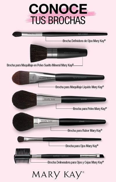 Para qu sirve cada brocha de maquillaje y cu l elegir - Como barnizar con brocha ...