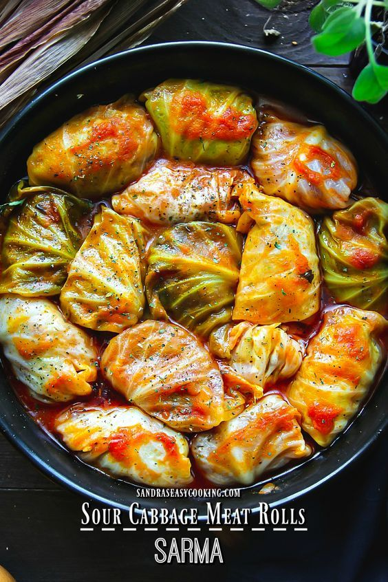Delicious And Simple Recipe With A Twist For Sour Cabbage Meat Rolls Sarma