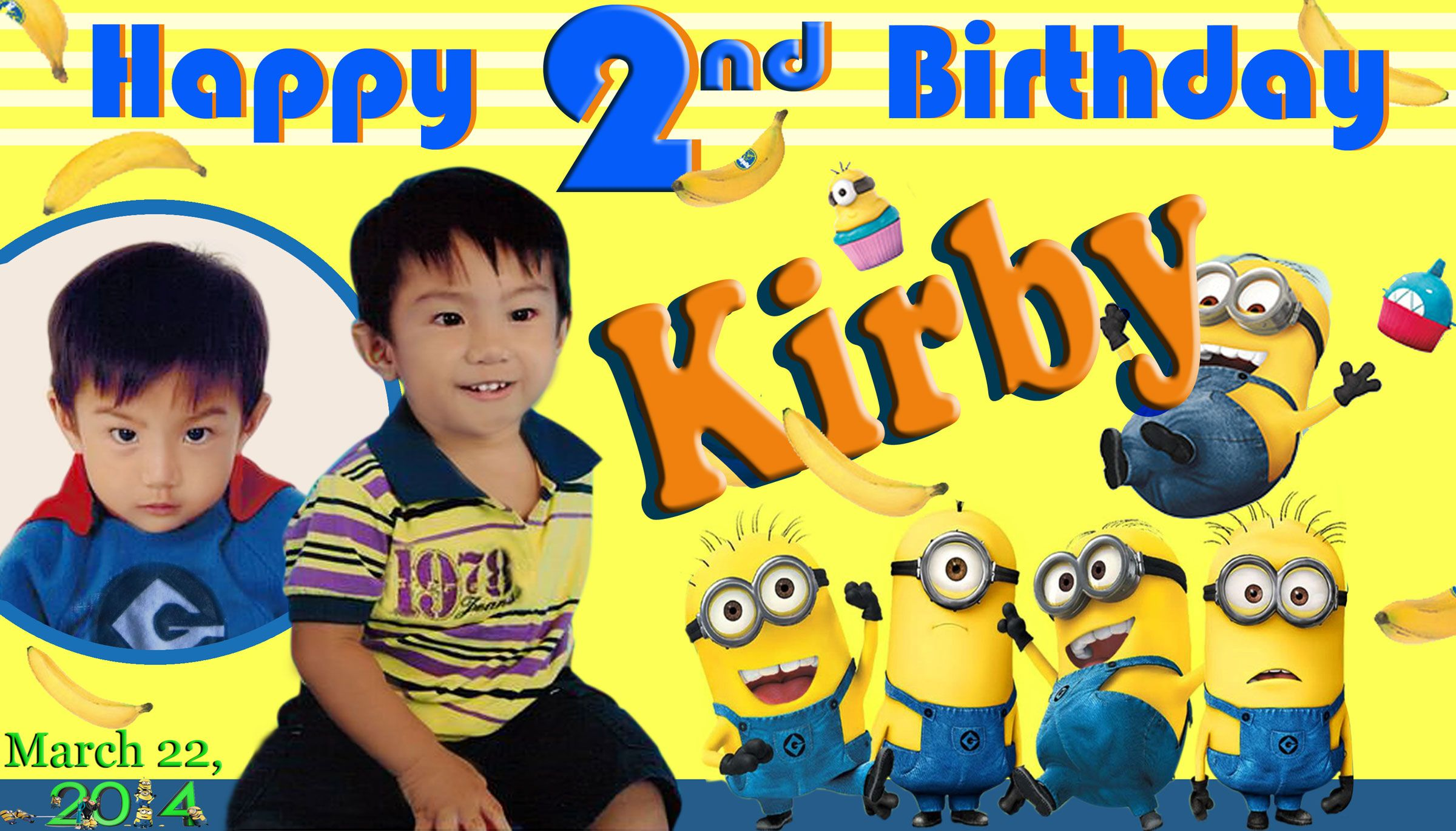 Tarpaulin Layout Size 2x3 5 C Kirby Bday For Inquiries Please
