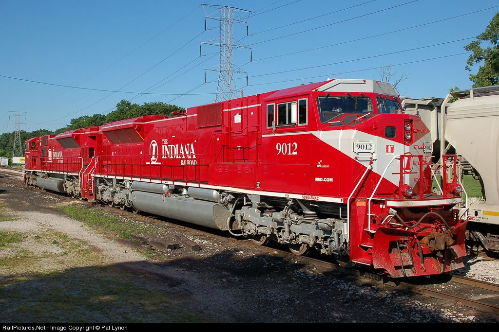 indiana railroad sd90mac | ... Indiana Rail Road EMD SD90MAC at Indianapolis, Indiana by Pat Lynch