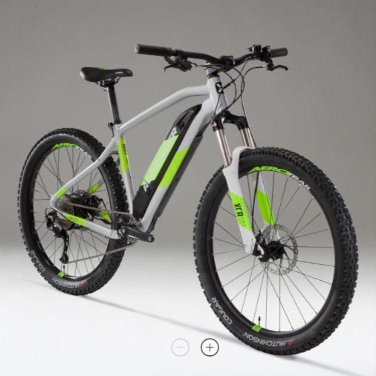 Rockrider E St500 Electric Mountain Bike Review Mountain Bike