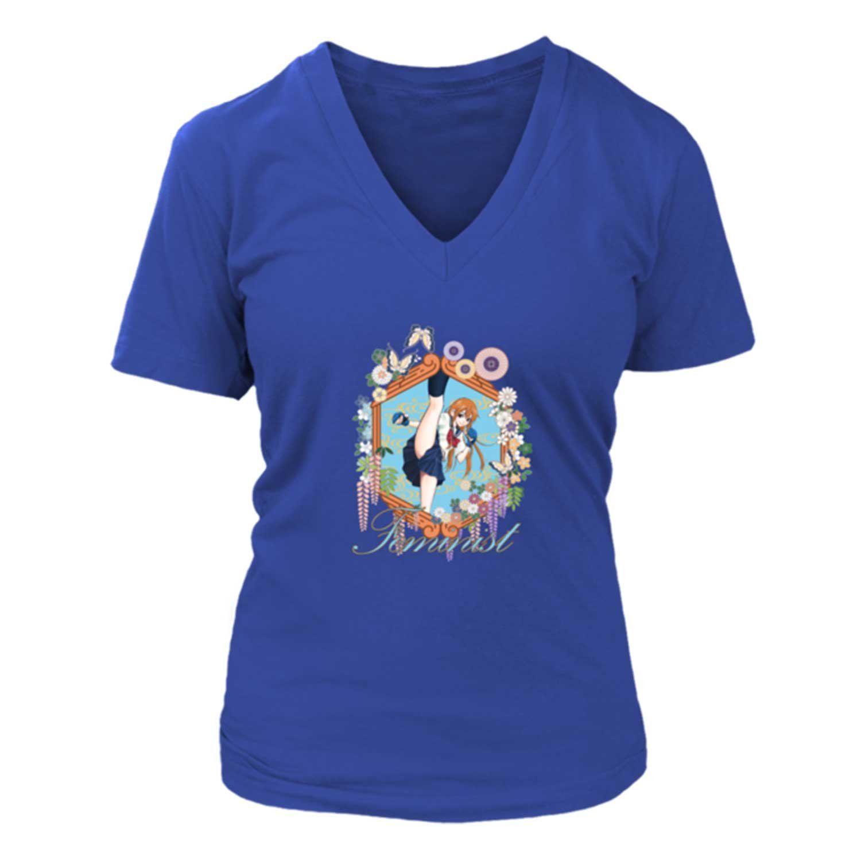 Feminist T Shirt V Neck Anime Boxing Girl By Itadakijapan On Etsy