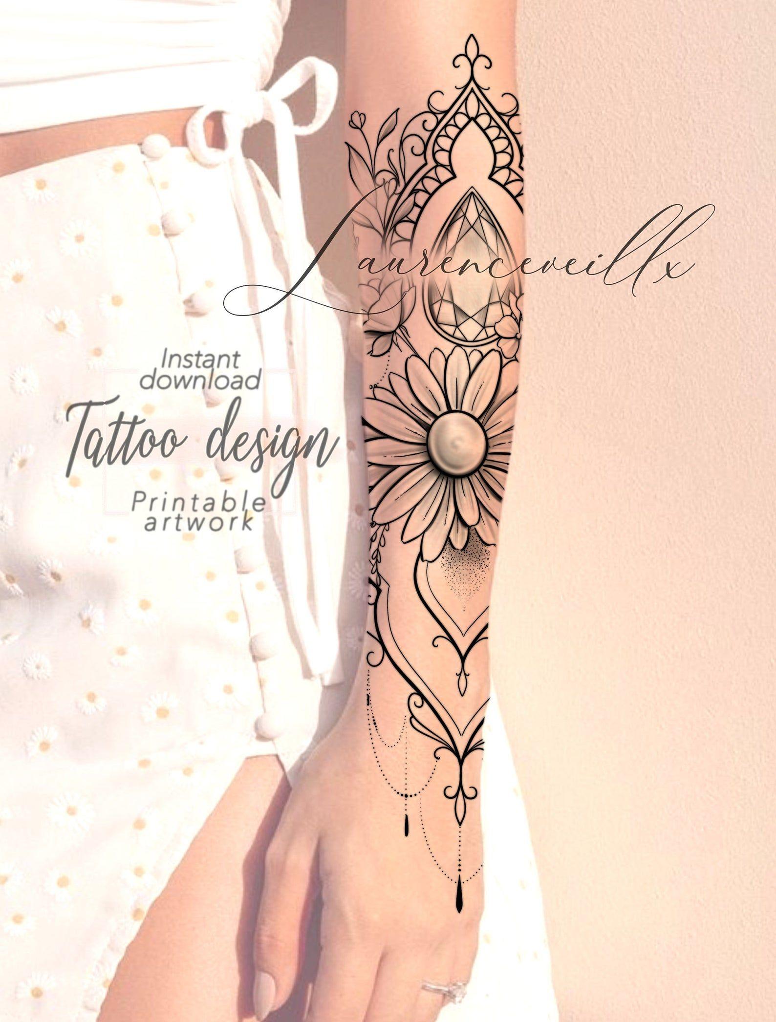 Printable Tattoo Design Instant Download Tattoo Design Etsy In 2020 Printable Tattoos Tattoos Tattoo Designs