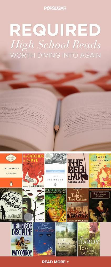 10 Required High School Reads Worth Diving Into Again | At the top ...