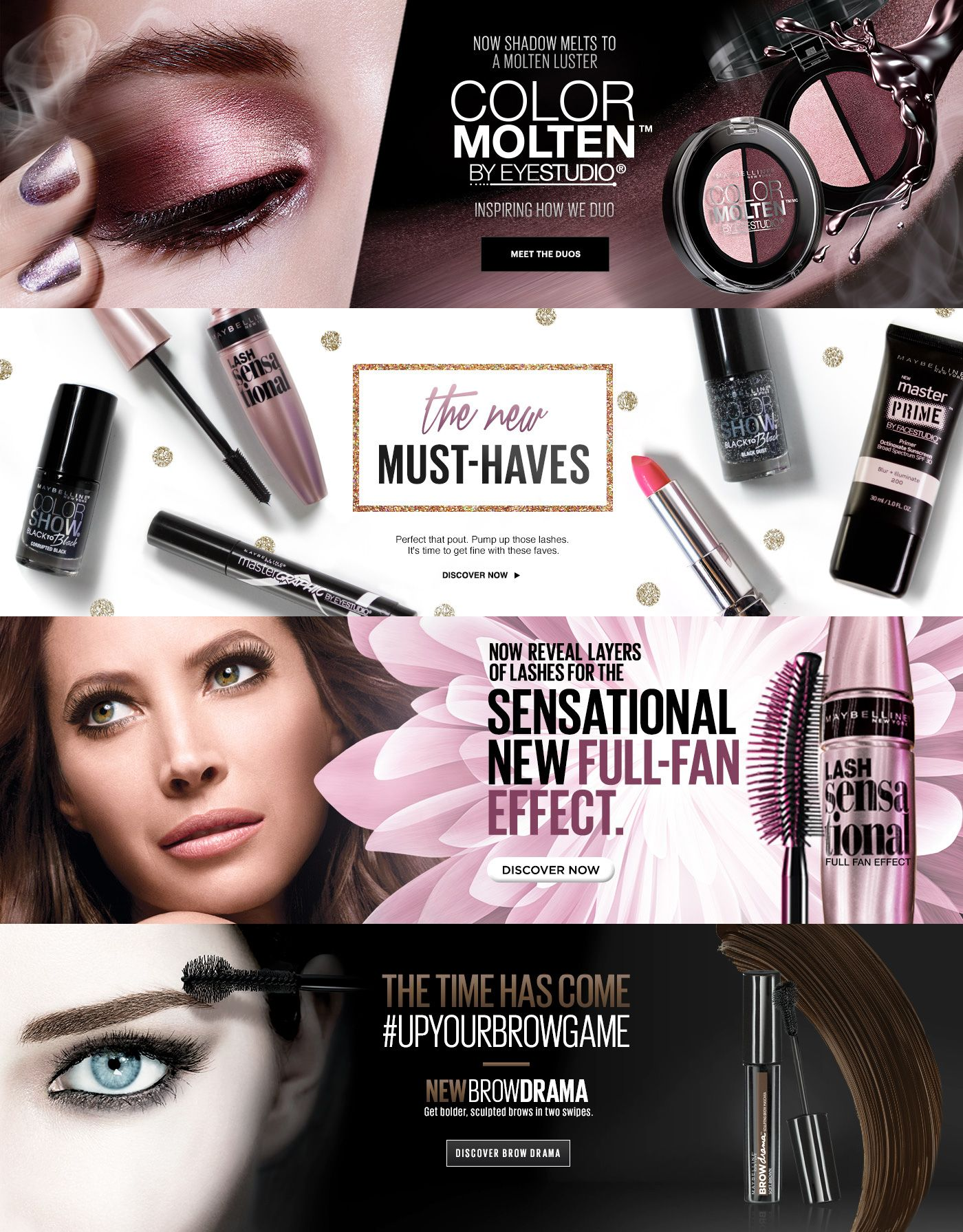 Makeup Products Makeup Tips And Fashion Trends Cosmetic Design Web Banner Design Cosmetics Website