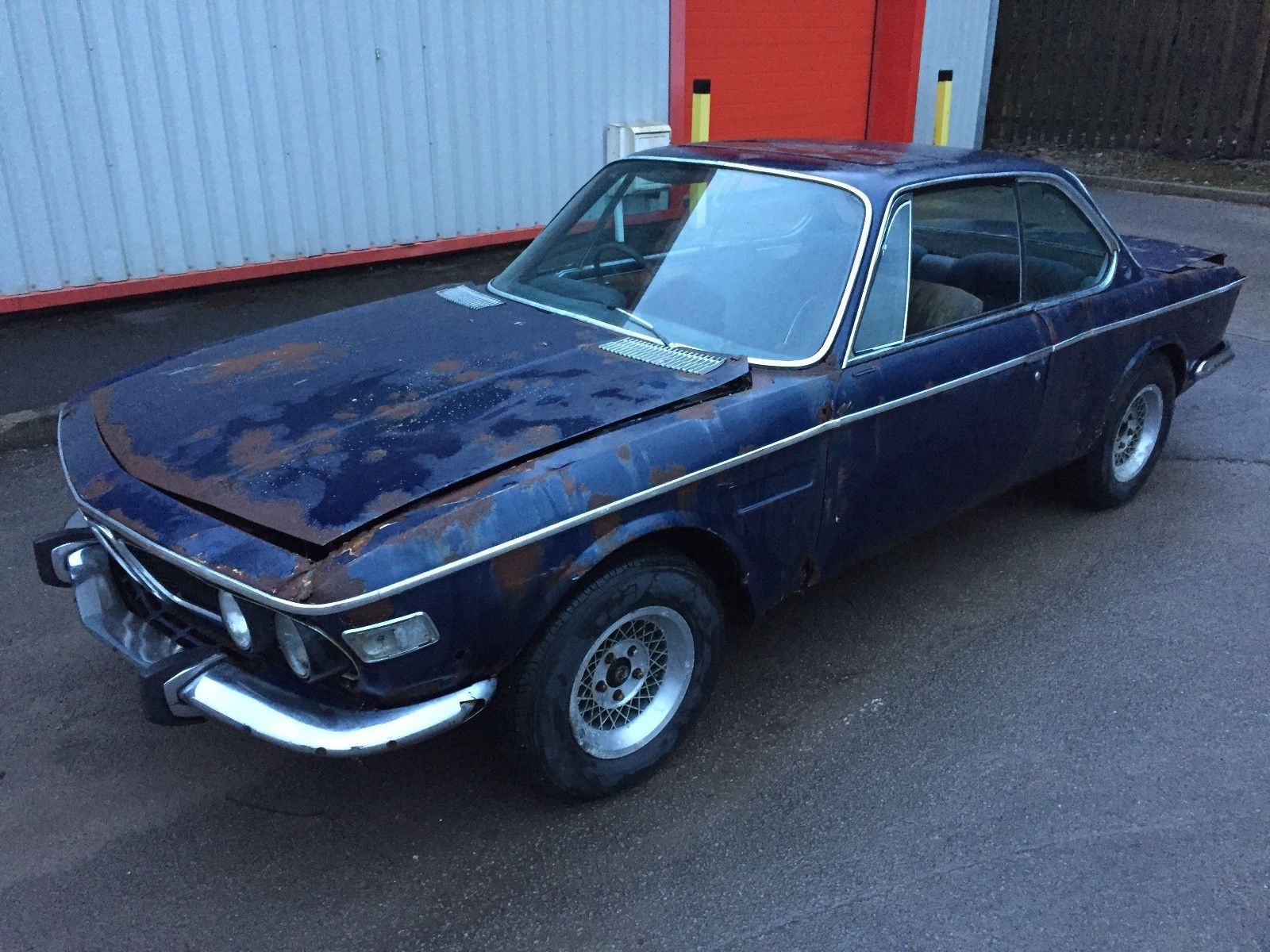 bmw E9 3.0CSl 1972 rhd uk car 3 door coupe barn find csl m3 project