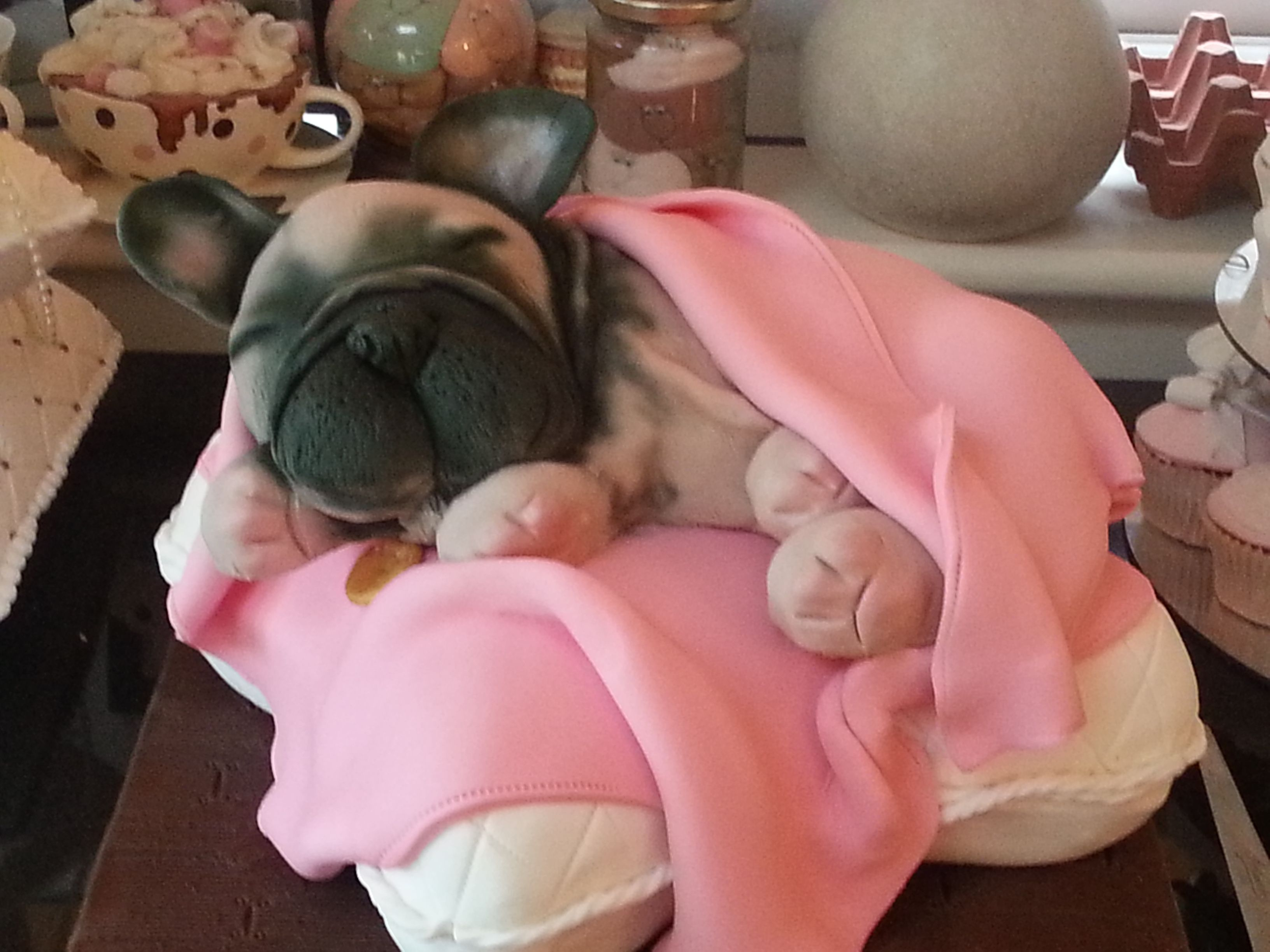 French Bulldog Puppy Cake By Claire S Cakes Essex Puppy Cake