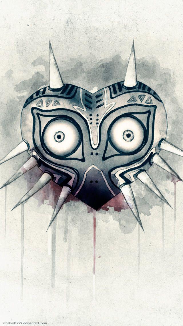 Image Result For Majoras Mask Iphone Wallpaper