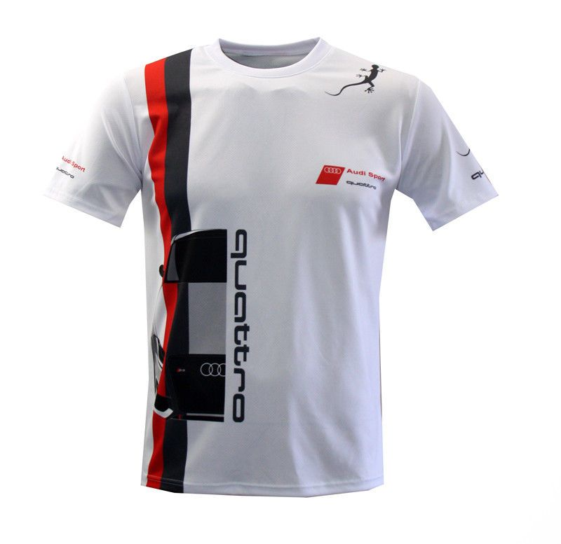 AUDI S LINE RS5 quattro Sublimation Print T shirt Maglietta