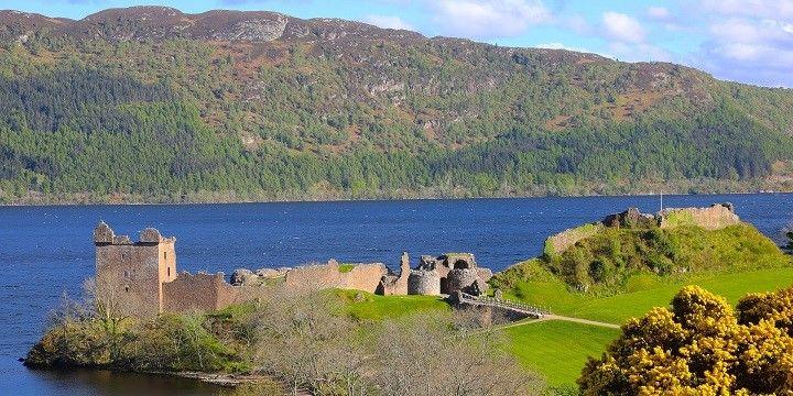 Urquhart Castle, Loch Ness, Scotland, Europe