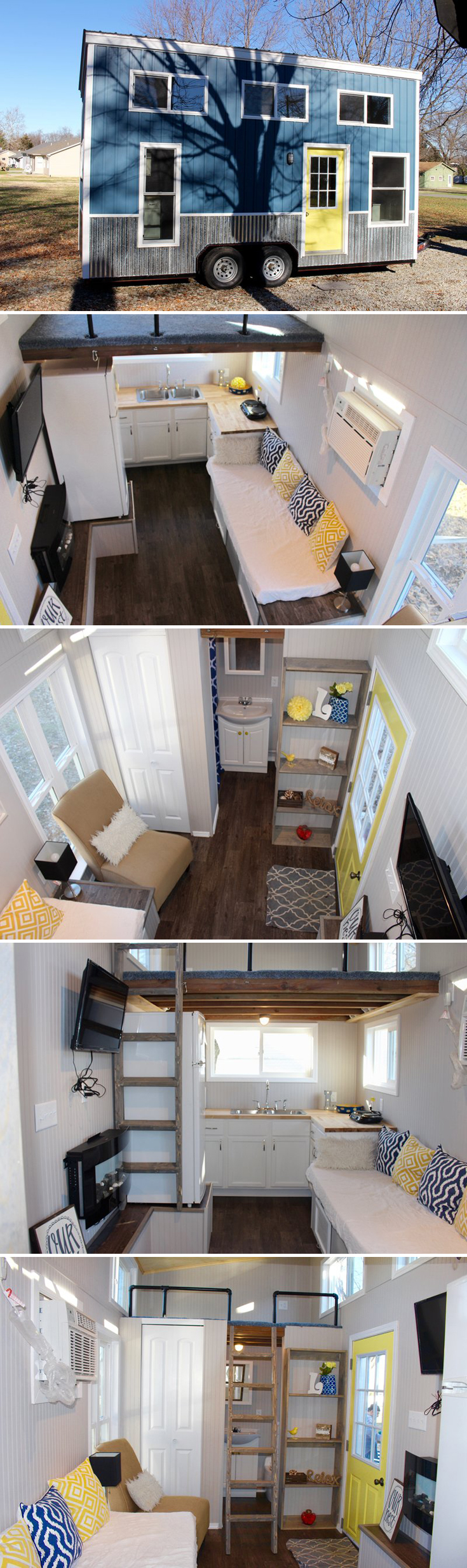 Chic Shack by Mini Mansions Tiny Living