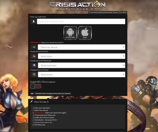 how to get vip in crisis action for free