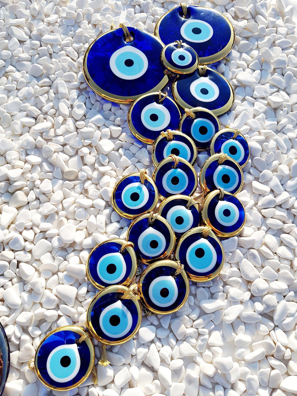 Golden Evil Eye All Sizes Wall Hanging Nazar Boncuk Turkish Evil Eye Greek Evil Eye Protection Amulet Home Decor Blue Eye In 2021 Evil Eye Art Eyes Wallpaper Evil Eye Tattoo