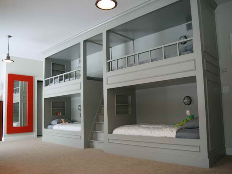 Why Bunk Wall Beds Are Popular with four room