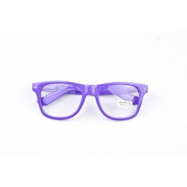 Free Shipping 2012 Eyeglasses 80s Vintage men's women's Eyewear Clear... via Polyvore